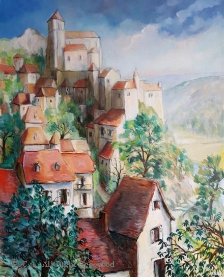 Saint Cyr lapopie