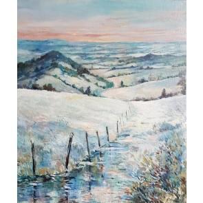 Auvergne sous la neige